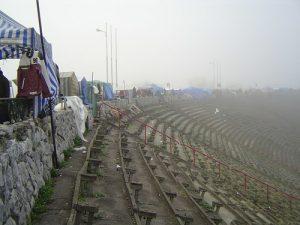 Le stade de Varsovie, de l'homme nouveau au traficant d'icônes