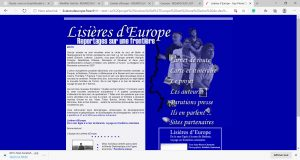 Lisières d'Europe