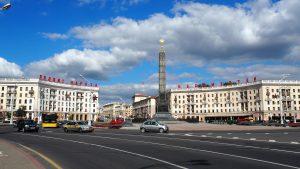 Entretien avec le maire de Minsk, M. Pavlov