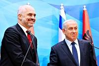 Les Premiers ministres albanais et israélien