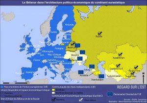 Bélarus dans architecture politico-économique européenne