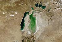 La petite (renaissance de la) mer d'Aral