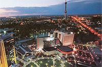 Tachkent, lecture à pierre ouverte