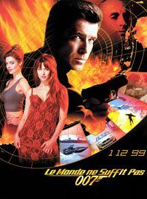 Affiche d'un film de James Bond
