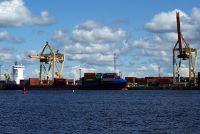Riga, un port avant d'être une ville?
