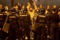 Manifestations violentes à Belgrade en réaction à la déclaration d'indépendance du Kosovo