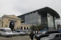 La gare d'Adler