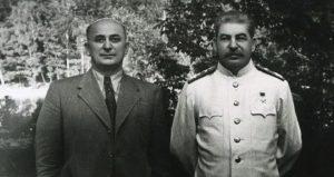 Beria et Staline