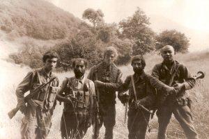 soldats de l'Armée du Haut Karabakh
