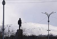 La «belle montagne» - La ville de Montchegorsk (oblast de Mourmansk).