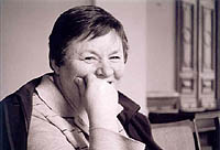 Vanda Juknaite, écrivain, dramaturge, essayiste lituanienne