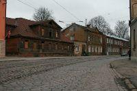 Rue de Moscou à Riga