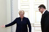 Marathon politique en Lituanie