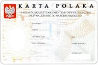 Karta Polaka : pour la Polonia ou pour la Pologne?