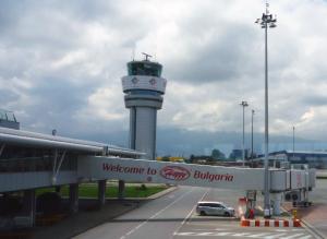 L'aéroport de Sofia
