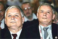 Jarosław and Lech Kaczynski