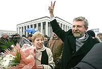 Présidentielle en Biélorussie : Milinkiévitch, le candidat de l'Europe