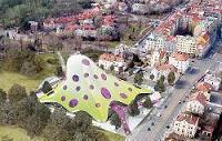 La nouvelle Bibliothèque nationale de Prague: futuriste et scandaleuse
