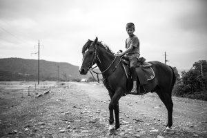 Jeune garçon de la vallée de Pankissi