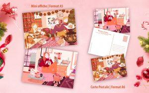 Cartes de vœux et affiches