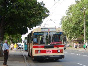 Chișinău, troleeybus
