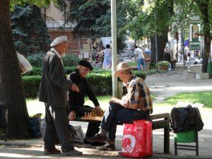 Chișinău, Joueurs d'échecs