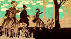 Budzma Belarusami, cadre du film d'animation évoquant l'histoire bélarusse.