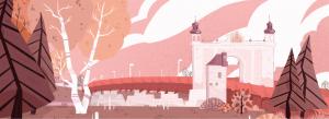 Ouest-Est, le pont de la Reine Louise