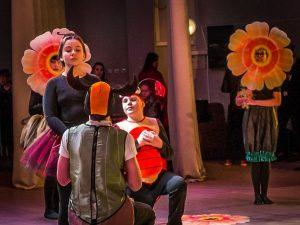 Scène du spectacle du Théâtre inclusif I, Minsk.