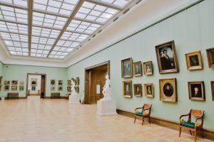 Une salle de la galerie Tretiakov