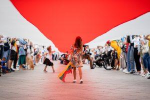 Voie de la liberté (© Justinas Stacevičius / LRT, avec l'aimable autorisation de LRT).