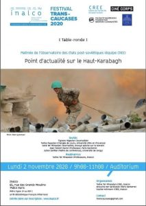 Table-ronde Haut-Karabagh (affiche)