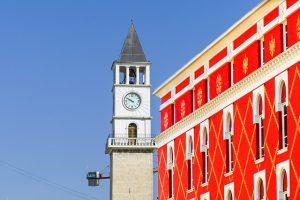 Tirana, une ville pimpante