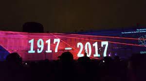 7 novembre 2017 à Saint-Pétersbourg: le centenaire invisible