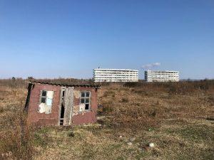 Un complexe hôtelier fantôme (crédit: P.Moreno,2020)