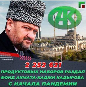 Les milliards de la fondation Akhmat Kadyrov