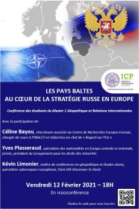 Affiche conférence Pays baltes Russie ICP