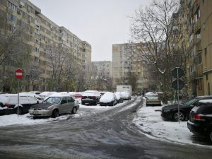 immeubles situés dans le quartier Rahova de Bucarest (photo : Mihai Cărămizaru).