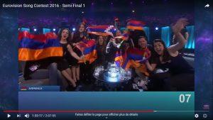 Sous les paillettes la rage? Petite histoire de l'Eurovision en Europe de l'Est