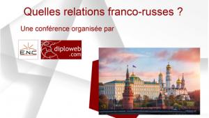 Quelles relations franco-russes? Conférence avec P.Vimont et B.Tertrais